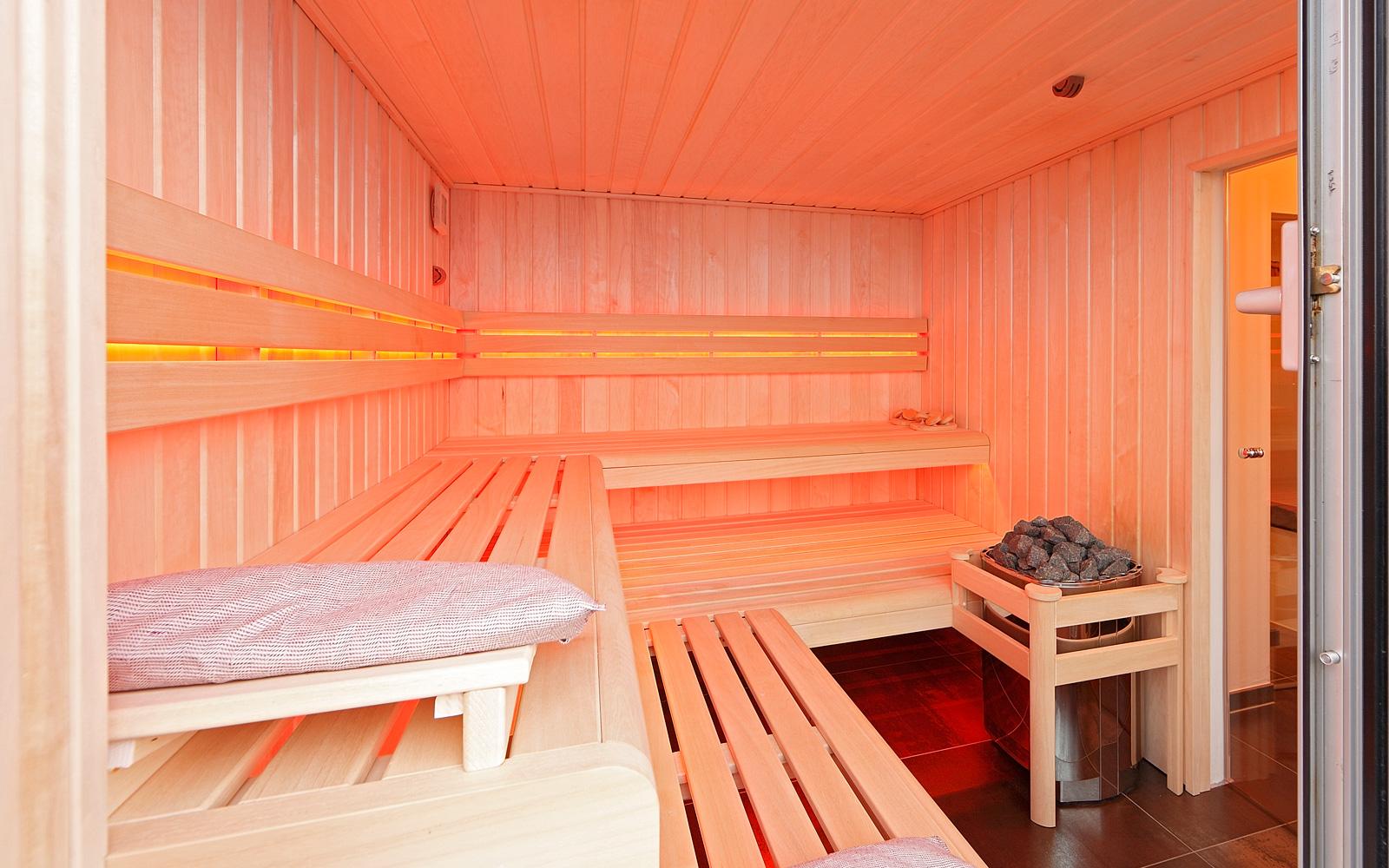 Sauna, wellness, ontspannen, relaxen, penthouse, Crepain Binst