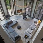 The Art of Living, Exclusief wonen, Lamp in de living, Jacco Maris Design, verlichting, lamp, interieur, design, kunst, art, openhaard