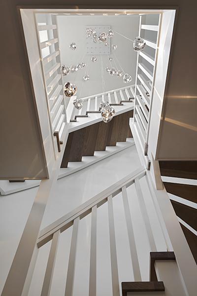 The Art of Living, Exclusief wonen, BD Design, Exclusieve verlichting, designverlichting, verlichting, lamp, kunst, trappen, trap, stucwerk