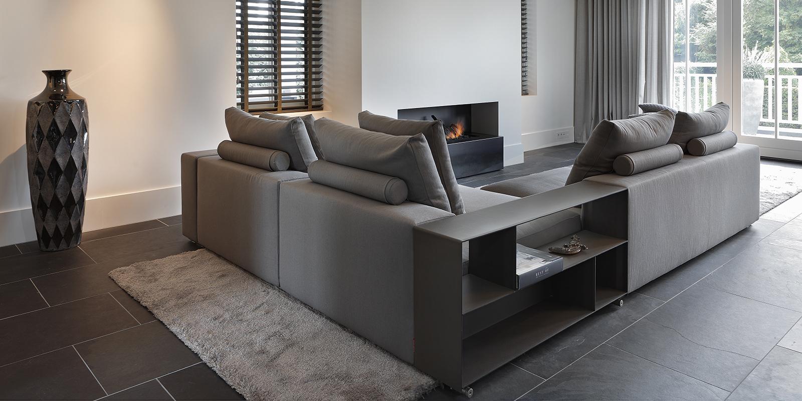 The Art of Living, Exclusief wonen, Boley, Openhaarden, Noort interieur BV, interieurdesign, interieur, design, open haard, modern, tegelvloer, kunst, ramen, shutters