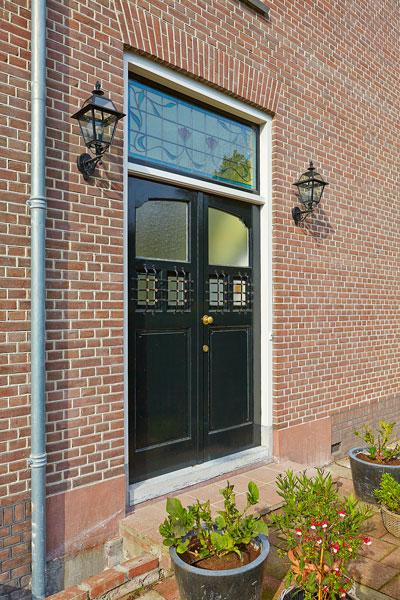 The Art of Living, Exclusief wonen, Voordeur Vooroorlogse Villa Burgemeesterwijk Arnhem Monumentaal