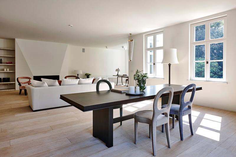 Vlassak-Verhulst, woonkamer, design, modern, wit, laminaat, interieurinspiratie, stucwerk
