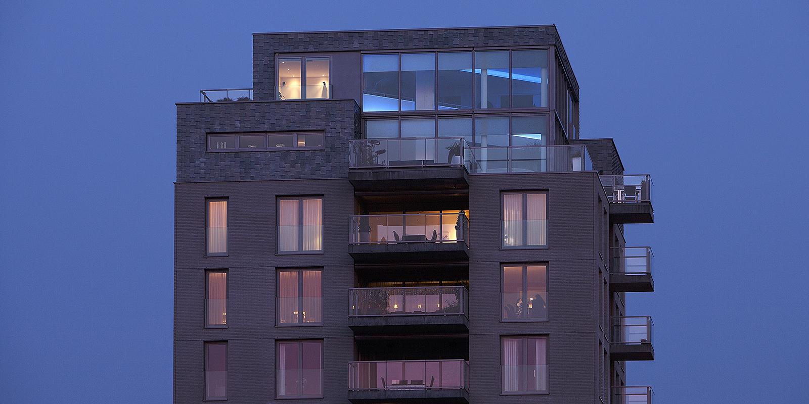 The Art of Living, Exclusief wonen, Architect Crepain, penthouse, luxe, design, modern, inspiratie, exterieur, glas, dakterras