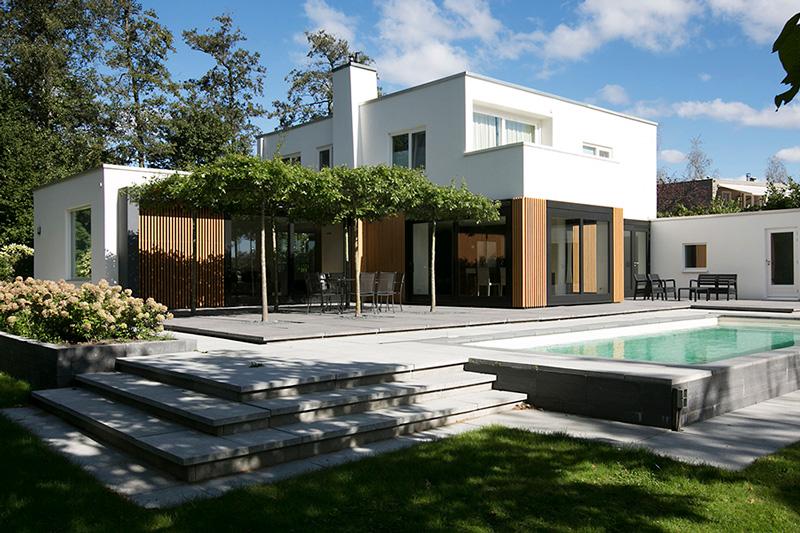 Eigentijdse villa, Marco van Zal, exclusieve woningen, architect, architectuur, the art of living
