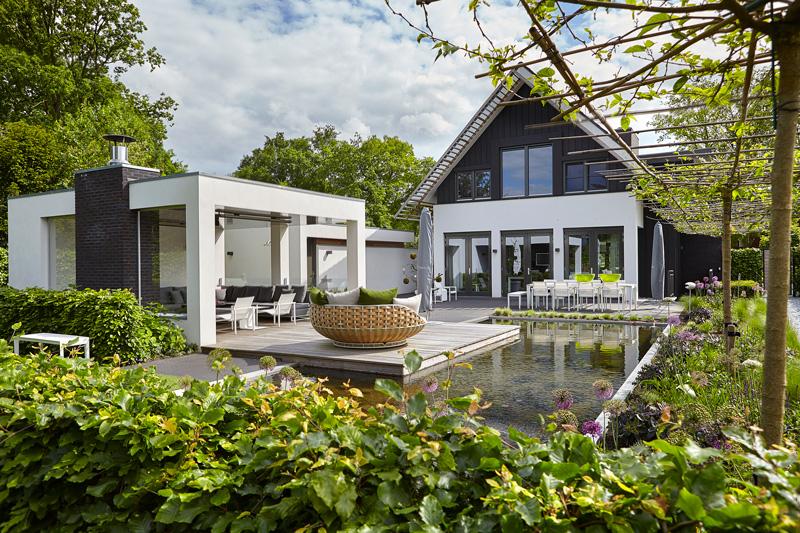 Symmetrische woning, Marco van Veldhuizen, studio marco van veldhuizen, architectenbureau, ontwerpbureau, architect, exclusieve woning, the art of living