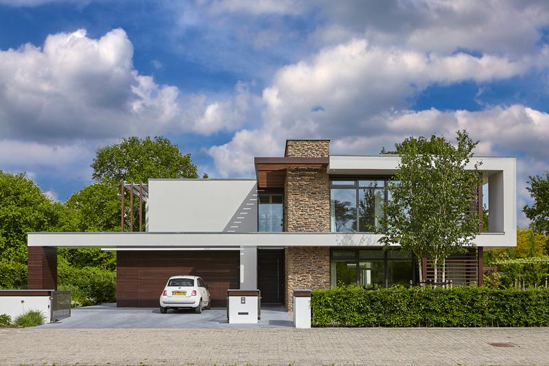 Strakke villa, Marco van Veldhuizen, studio marco van veldhuizen, exclusieve woning, architect, architectenbureau, ontwerpbureau, the art of living