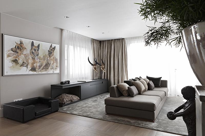 The Art of Living, Exclusief wonen, Dofine Vloeren en Wanden, Interieurbeplanting Oase Groen decorateurs, interieur, design, modern, kunst, woonkamer, meubelen, gordijnen, schilderij, tapijt, laminaat
