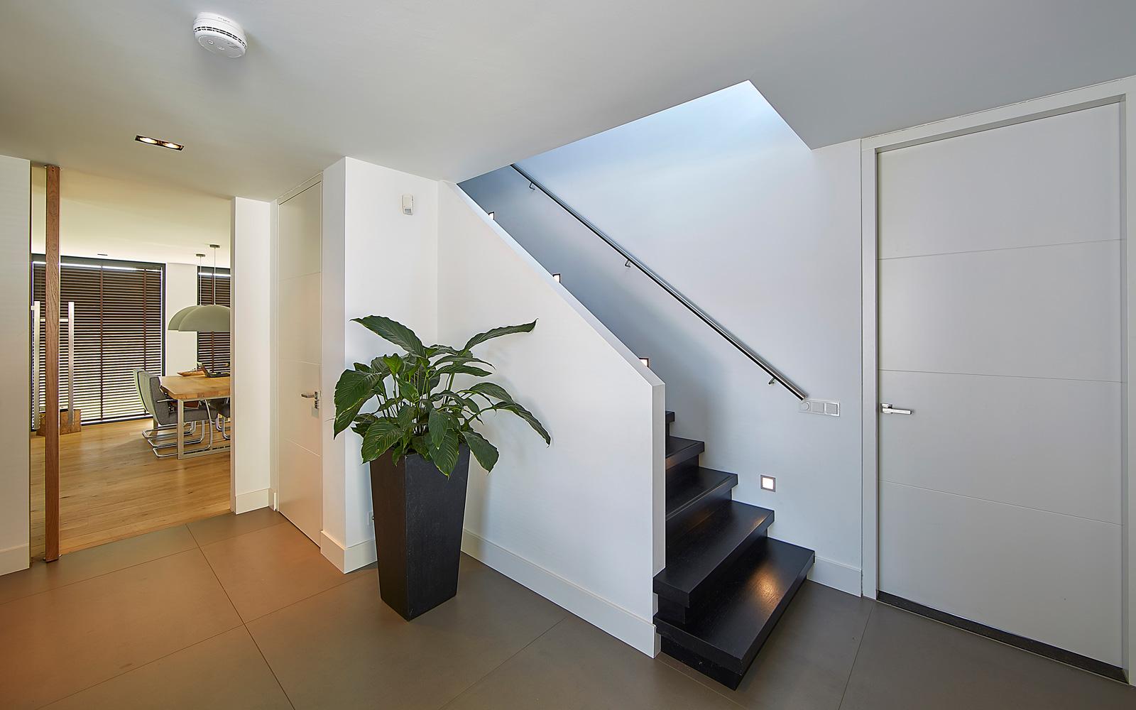 Smits & Strauven hebben het prachtige tegelwerk verzorgd in de villa.