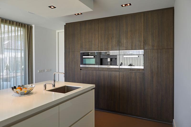 In de exclusieve keuken van Van Diessen zit de nieuwste keukenapparatuur.