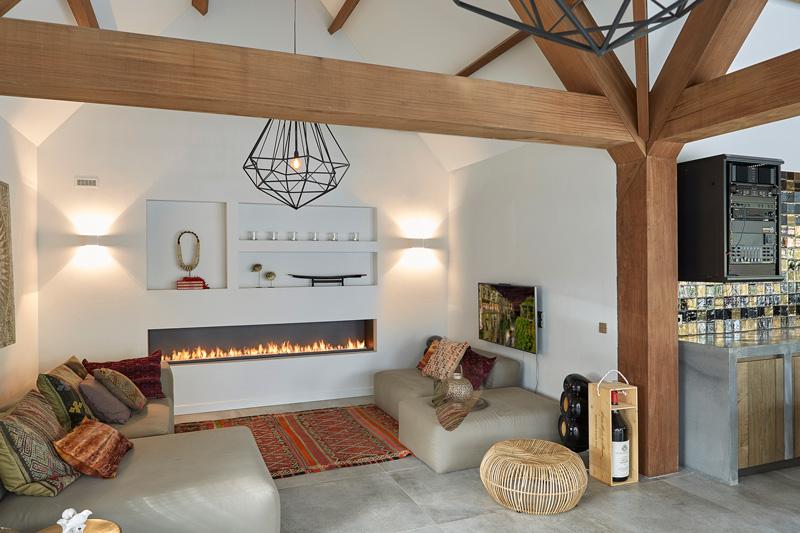 Villa vol licht, lucht en ruimte, Van Pelt Architecten, Boley, Haarden