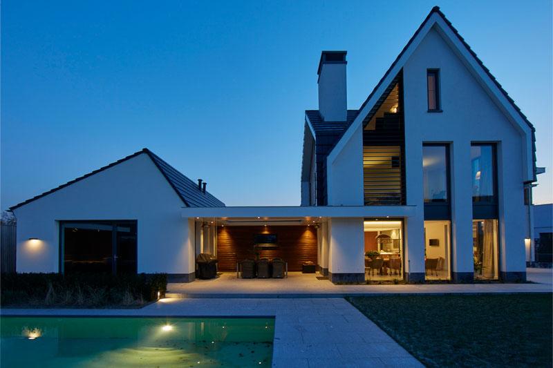 Nieuwbouw, Wolfs Architecten, marinus wolfs, architectenbureau, architect, ontwerpbureau, moergestel, the art of living