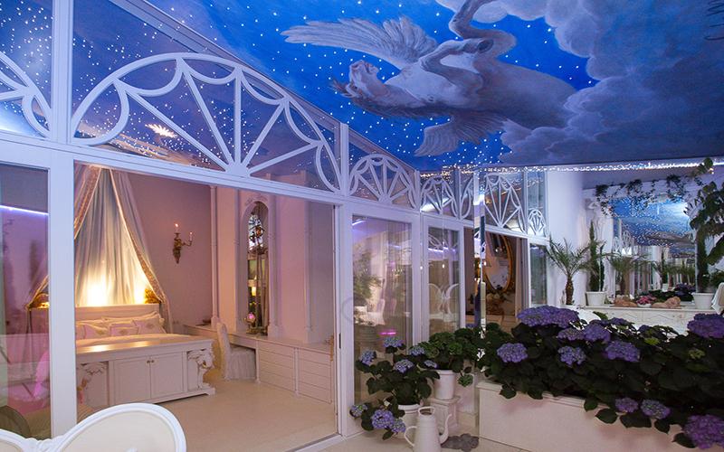 The Art of Living, Exclusief wonen, Mérens Boxsprings, slaapkamer, planten, penthouse, luxe, sky, verlichting, exclusief, inrichting