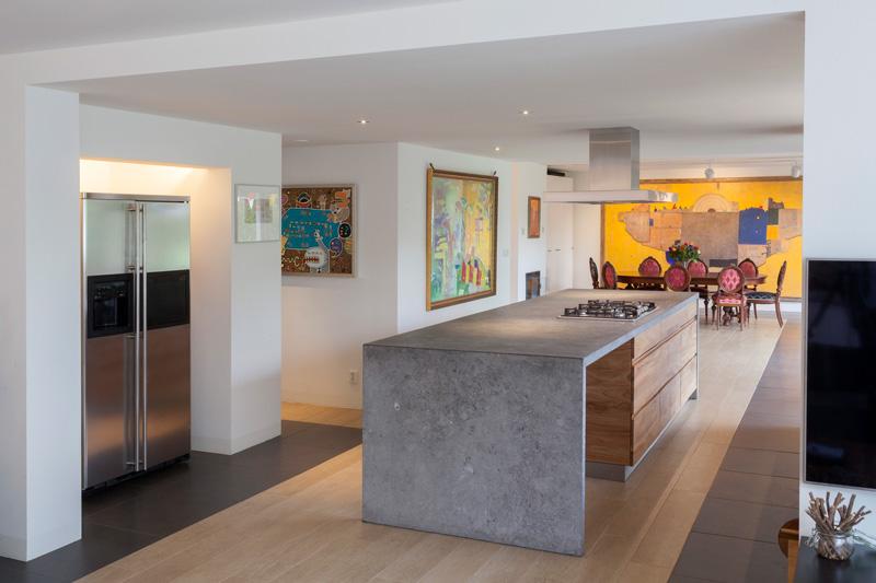Kookeiland In Woonkamer : Interieurproject thijssen design the art of living nl