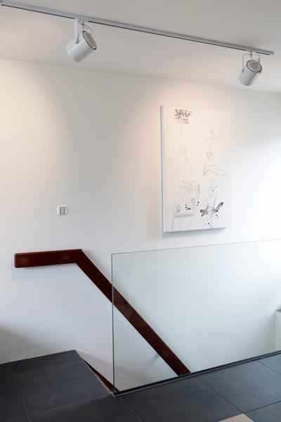 The art of living, Exclusief wonen, Kebo, Storax, Schilderij, Exclusieve glazen balustrade