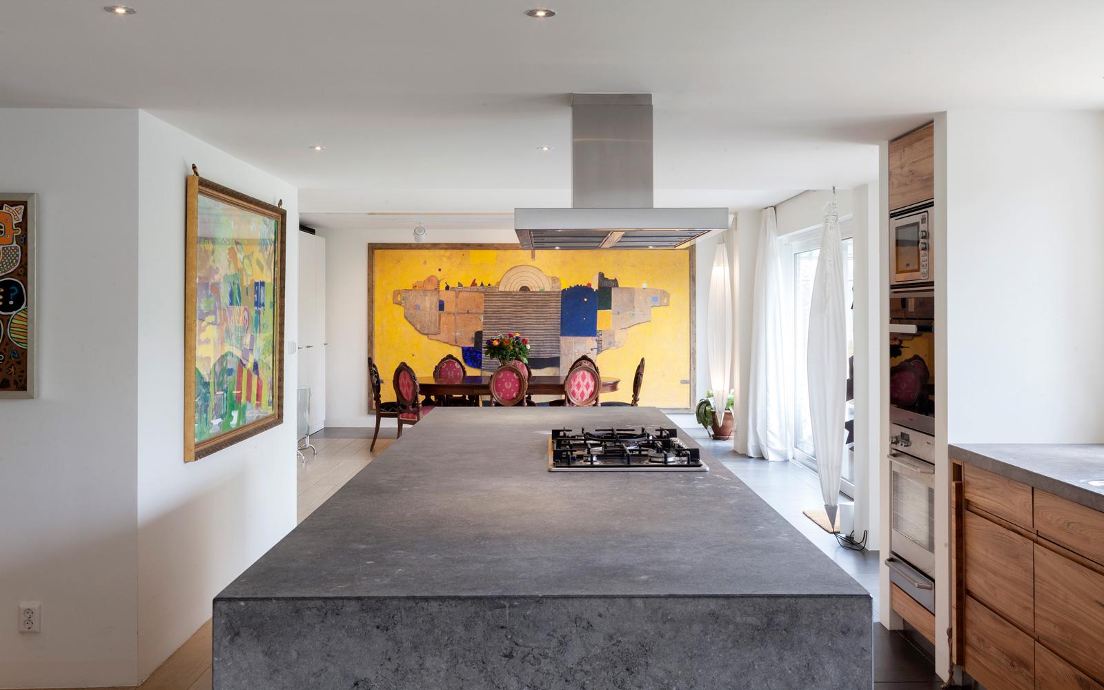 The art of living, Exclusief wonen, Olthaar Ontwerpen, Kookeiland, Exclusieve woning, Interieurdesign