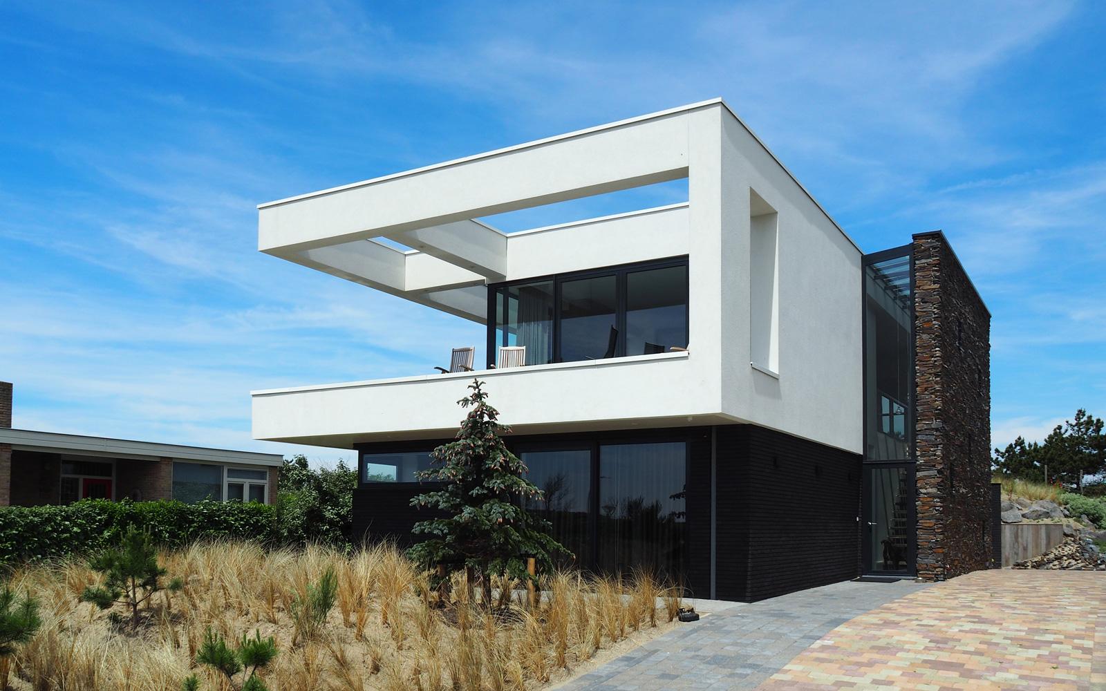 Gerben van Manen heeft de strakke architectuur werkelijkheid gemaakt.