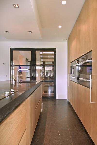 Lodder Keukens is verantwoordelijk voor de moderne keuken.