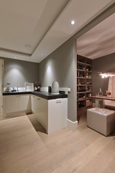 De keuken van Lodder Keukens staat mooi op het parket van Europa Parket.
