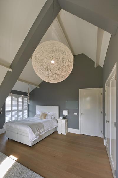 De slaapkamers zijn verzorgd door Nilson Beds