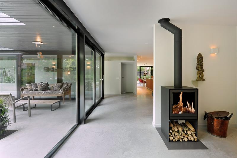verbouwing bungalow, otten van eck architecten en vormgevers, otten, van eck, ontwerpbureau, architectenbureau, the art of living
