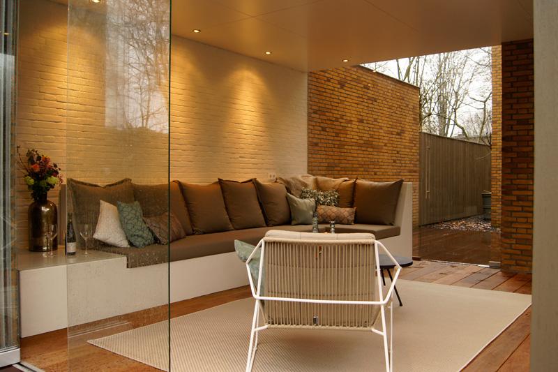Exclusief wonen, The art of living, Van Zon Interieurbouw, Exclusieve serre, Design meubelen