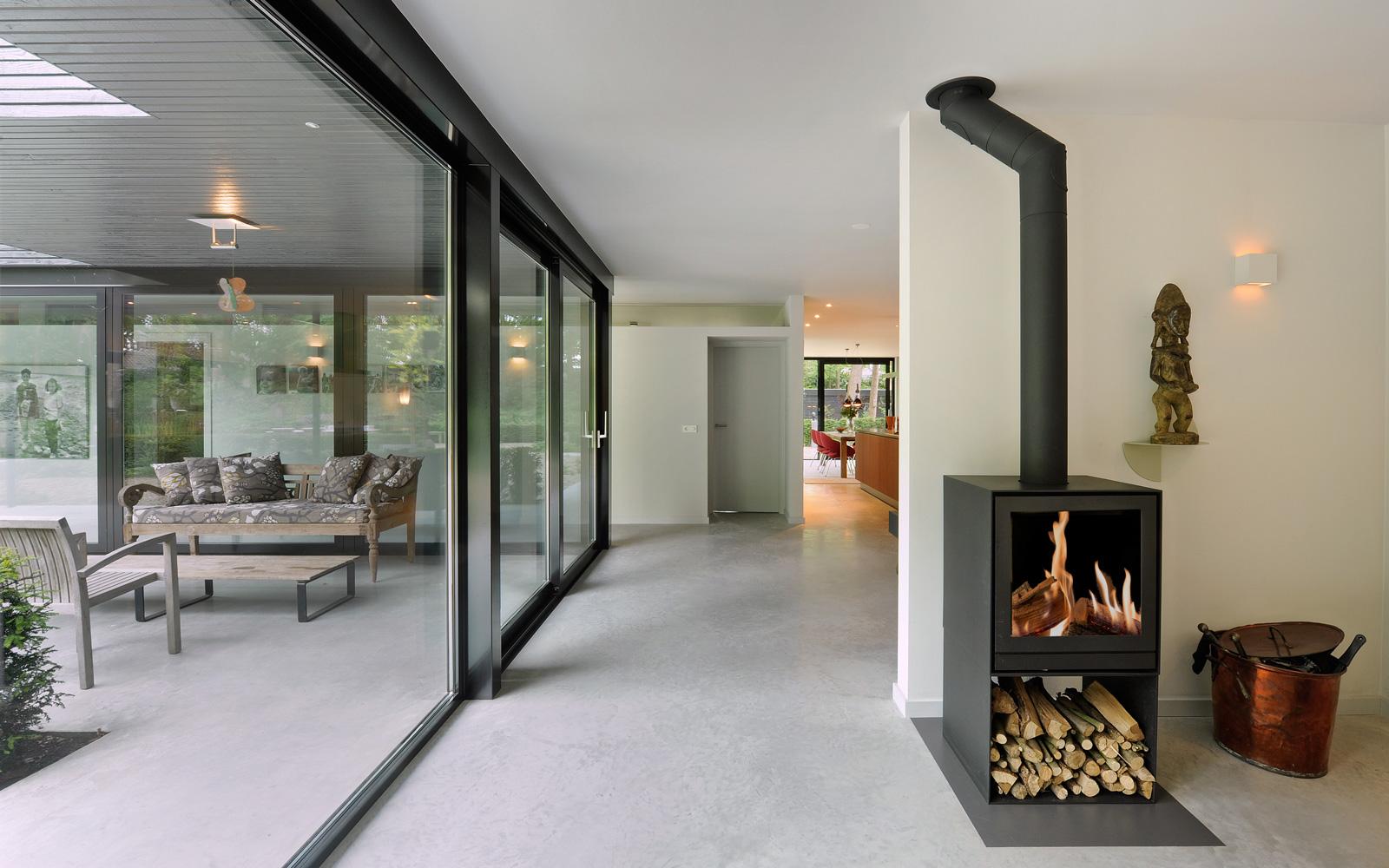 De interieurinrichting is mogelijk gemaakt door Novalis.O