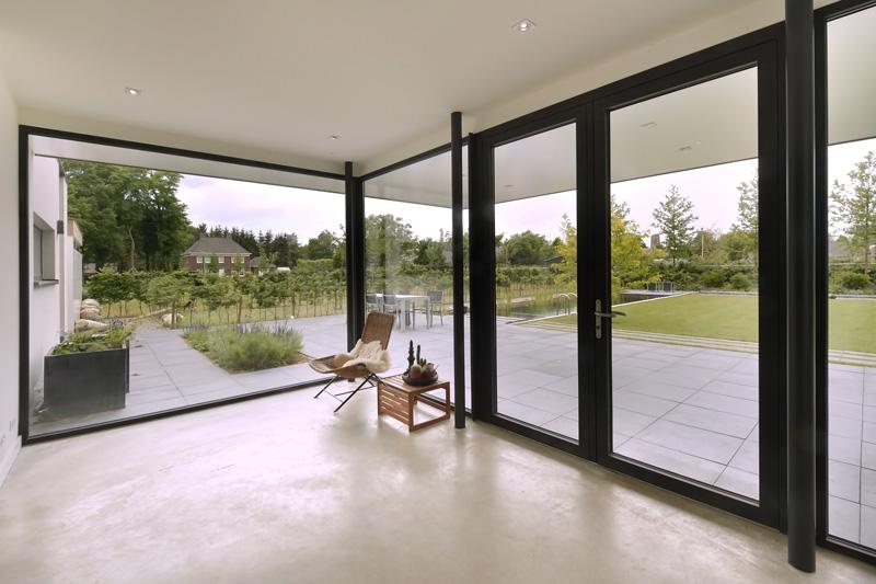 Michiel van Loon heeft de tuin ontworpen.