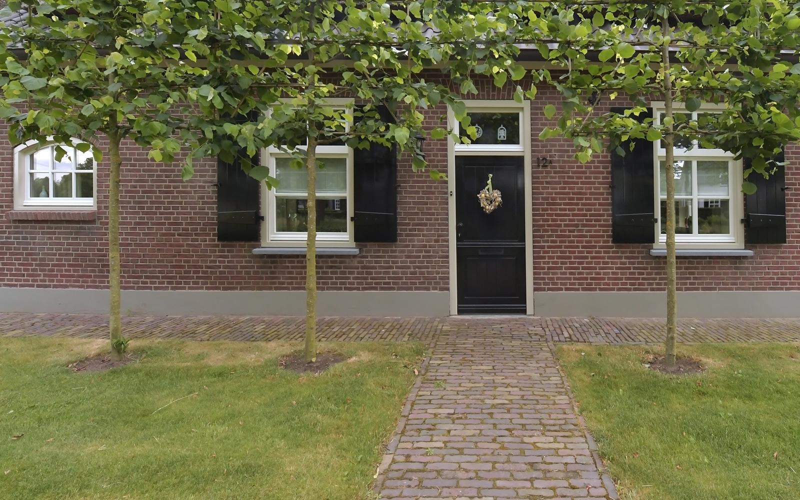Bouwbedrijf Pijnenburg BV heeft de prachtige villa gebouwd.