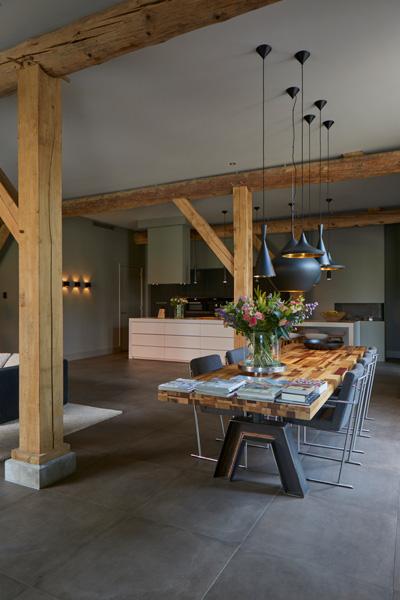 Architect Kees Marcelis heeft ervoor gezorgd dat de woning veel ruimte biedt.