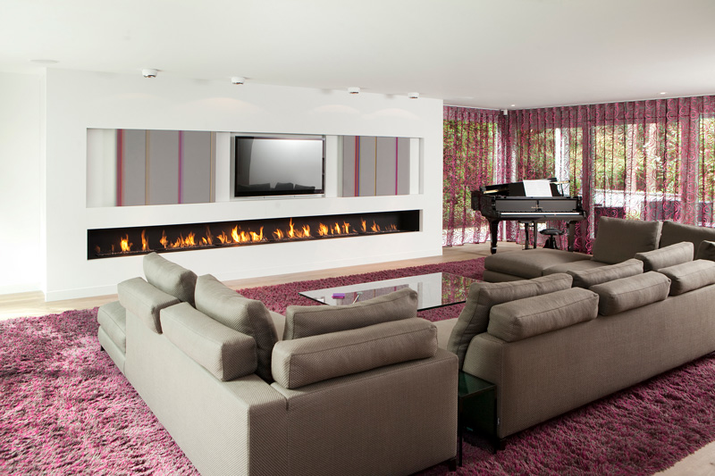 RMR Interieurbouw realiseerde het moderne interieur van deze villa.