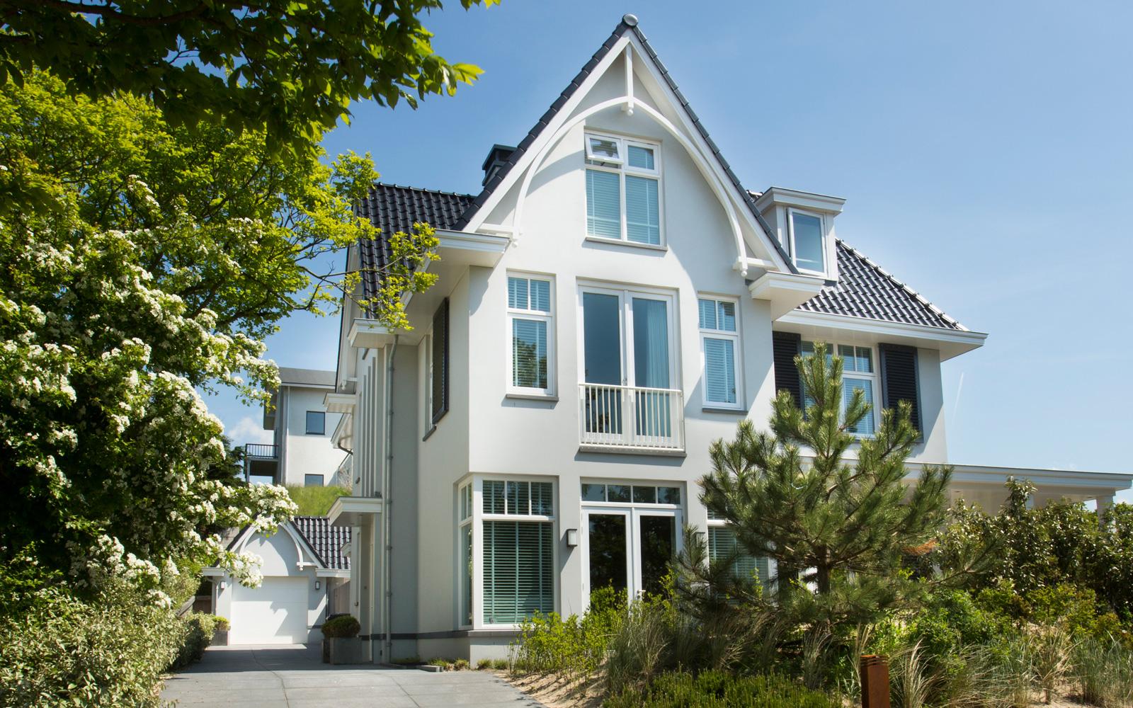 Van Egmond Totaalarchitectuur heeft deze villa werkelijk uniek gemaakt.
