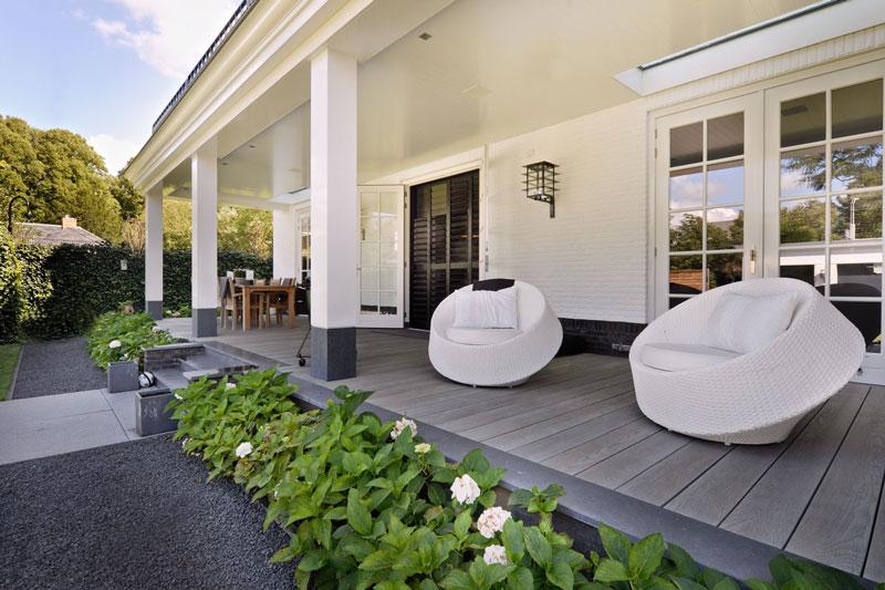 Witte droomvilla, Gerben van Manen, borek, oisterwijk, design tuinmeubels, exclusieve tuinmeubels, the art of living