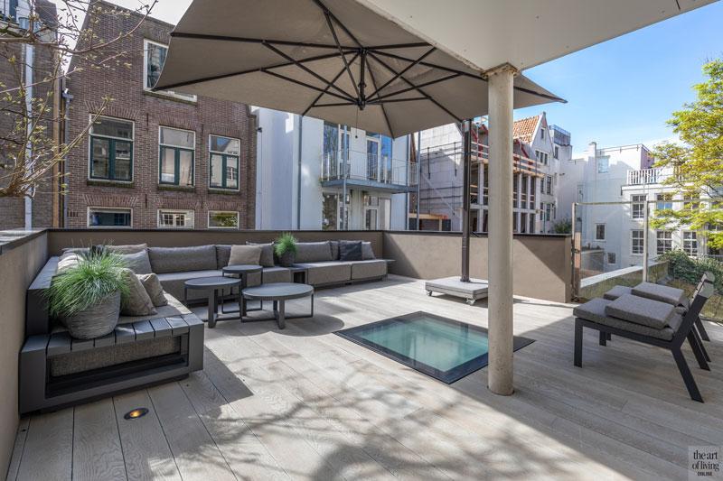 Sfeervolle loft, Studio Vendrig, borek, oisterwijk, design tuinmeubels, exclusieve tuinmeubels, the art of living