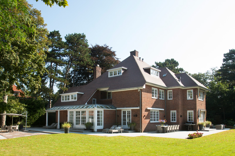 romantische parkvilla, van egmond, van egmond totaal architectuur, architectenbureau, ontwerpbureau, the art of living