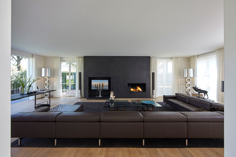 Bang & Olufsen, marmeren villa, Rob Zeelen Interior