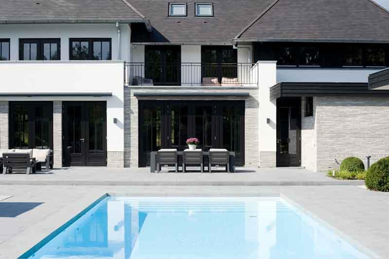 Borek, tuinmeubelen, Marco van Veldhuizen, speelse villa