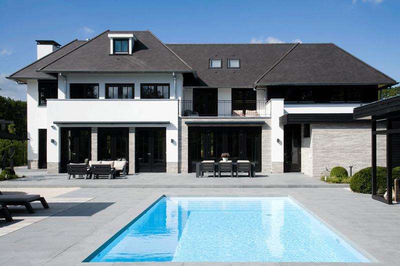 Marco van Veldhuizen heeft ervoor gezorgd dat de architectuur perfect aansluiten op de wolkentuin.