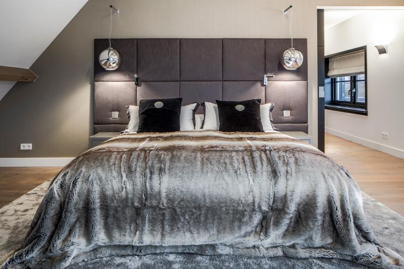 Ruime slaapkamer zorgt voor optimaal comfort.