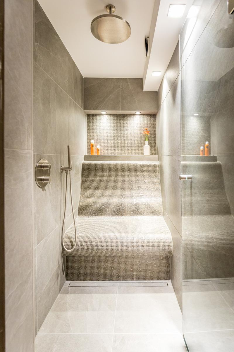 Deze exclusiviteit is zelden in badkamers vertoond.