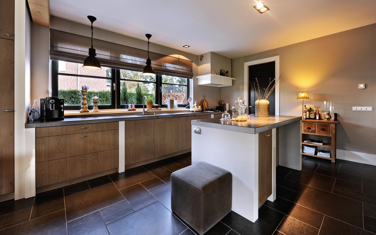 De luxe keuken is gemaakt door Novarti.
