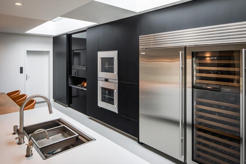 Voor dit project werd in samenspraak met de klanten gekozen voor het keukenmodel Ligna.