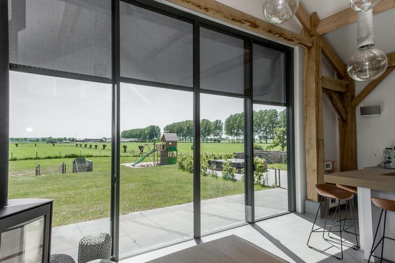 Enorme glaswand is gerealiseerd door Methermo XL.