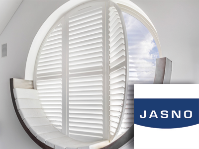 jasno, shutters, raamdecoratie, jaloezieën, interieurstek, event, woonbeurs, the art of living event, the art of living