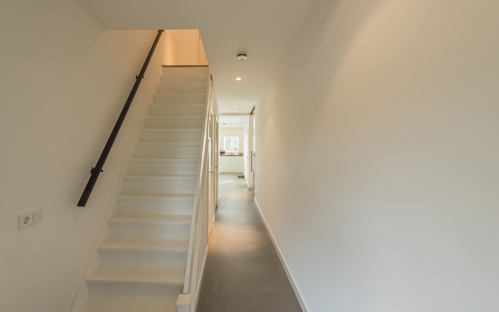De trap naar de bovenverdieping