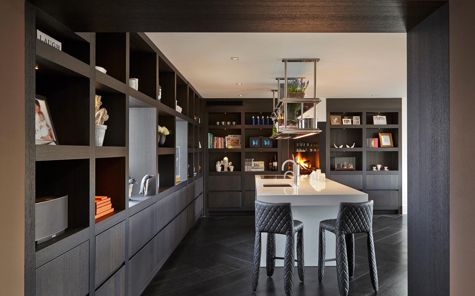 Renovatie penthouse, RMR Interieurbouw, Frank Rijken, keuken