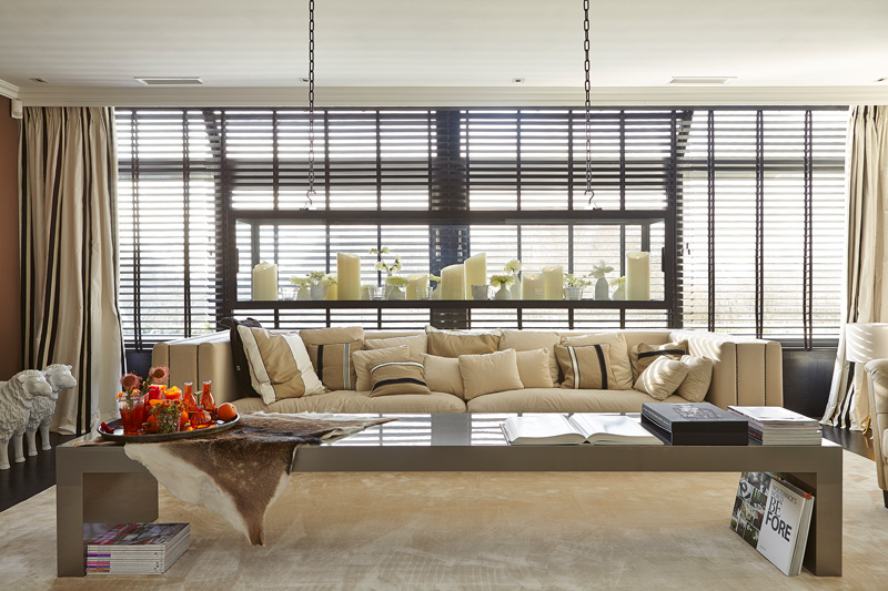 Penthouse, RMR Interieur, living, JASNO Shutters