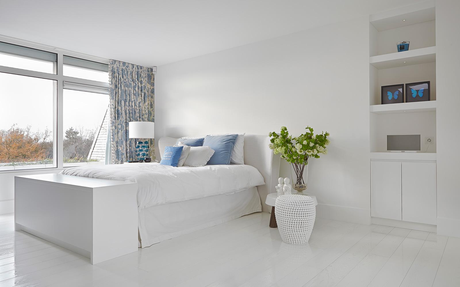 Slaapkamer, houten vloer door Van der Putten Chateauvloeren