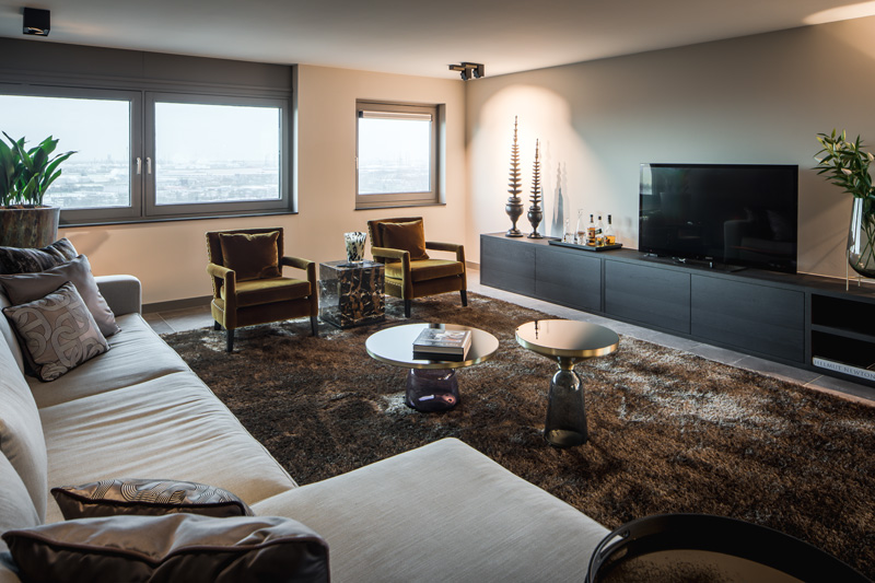 Luxe Penthouse Linda Lagrand The Art Of Living Nl