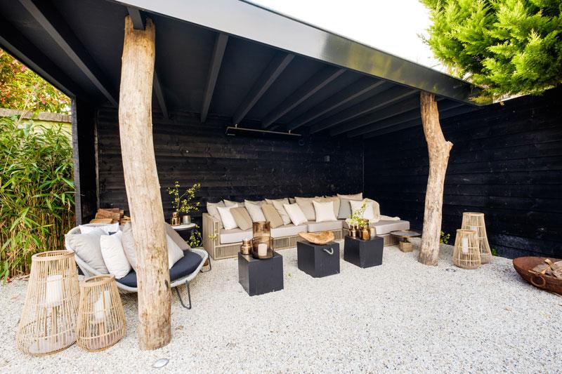 Tuin, terras, buitenmeubilair, Borek, Tuinontwerp en aanleg door Meker tuinen, showroom, architectenbureau Kabaz