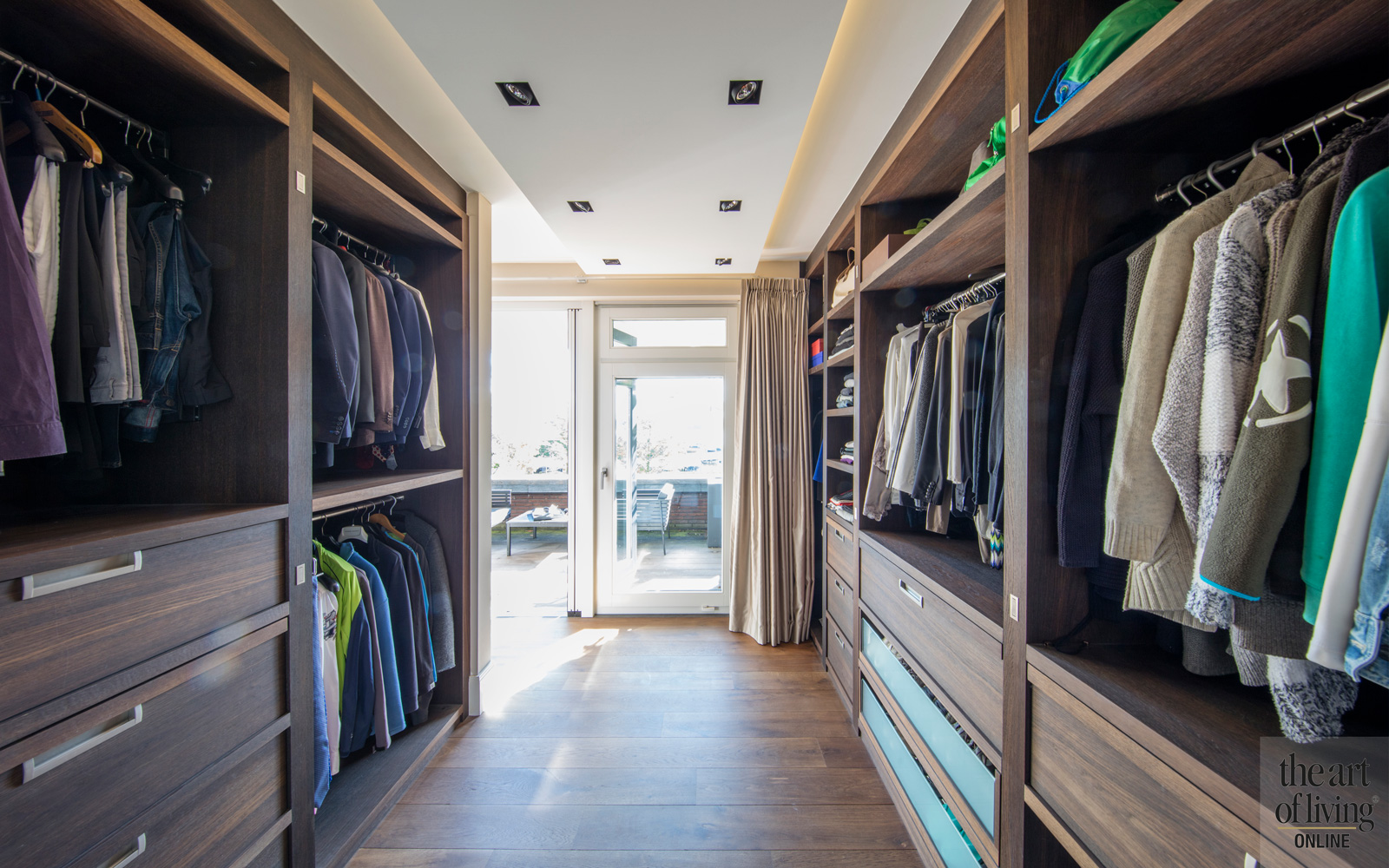 Inloop kast, dressing room